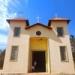 Calçamento em frente à igreja São José, comunidade do Xororó
