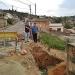 Muro de arrimo na Rua Belo Horizonte